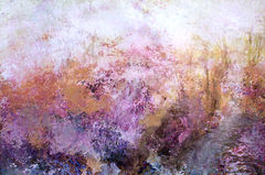 Pink,Garden,-,40x30,inches,art on line, fine art, art work, art fine art, fine art artists, landscape art, arts sales, abstract art, canvas print