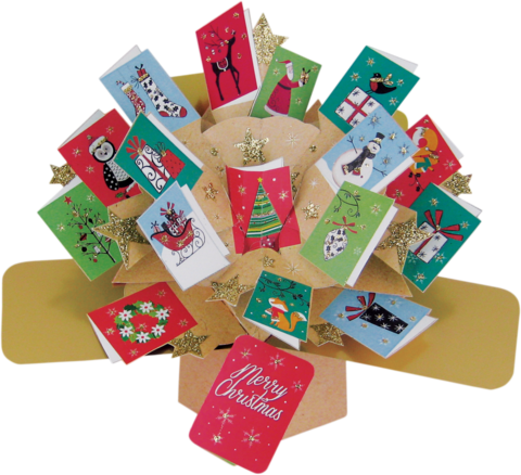 Second,Nature,Xmas,Pop,Ups,-,Mini,Cards,Second Nature Pop Ups, Original Pop-ups, Pop up greeting card, Pop up, Pop-up, Pop-ups, Christmas Pop Up, Xmas Pop Up, Mini Cards