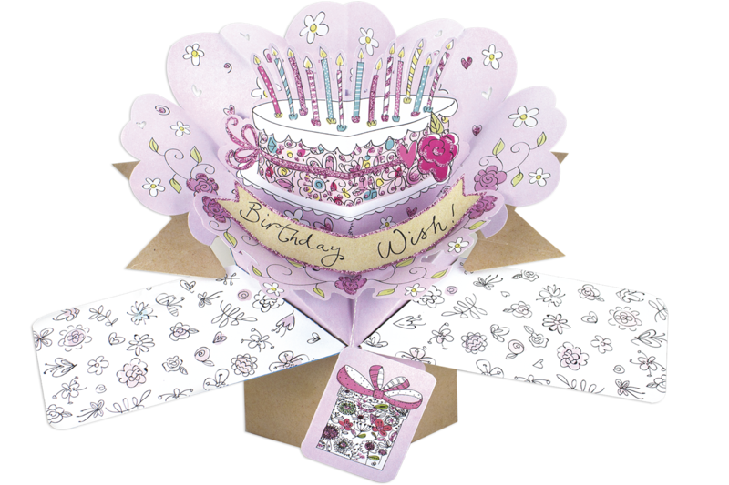Second Nature Pop Ups - Birthday Cake - product images