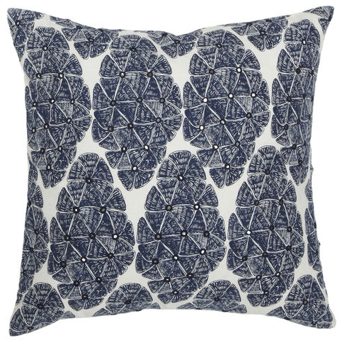 Sofia,Navy,Pillow,Colorful pillow, geometric pillow, floral pattern pillows, embroidered pillows, home decor, white pillows, mirrored pillows, cool toned pillows, throw pillows, linen pillows, handmade pillows, silk screen printed pillows, blue pillows, navy blue pillows