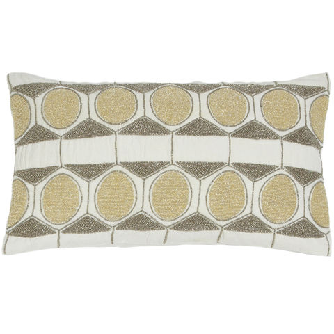 pillow geometric pillow sequinned pillows embellished
