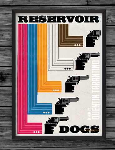 Reservoir,Dogs,dale, edwin, murray, print, buy, limited, edition, art, illustrator, graphic artist