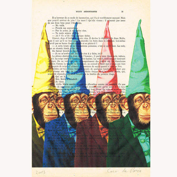 Party monkeys - Print Artwork - product images  of