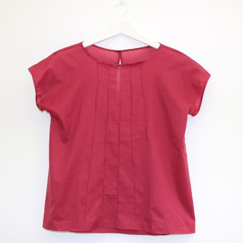 CK,Red tops, red shirts, Classic shirts, shirts, white shirt, black shirt, grey shirt, tops, tunics, separates, short sleeves tops, tops short tops, draw string tops, white tops, grey tops, black tops, blue tops
