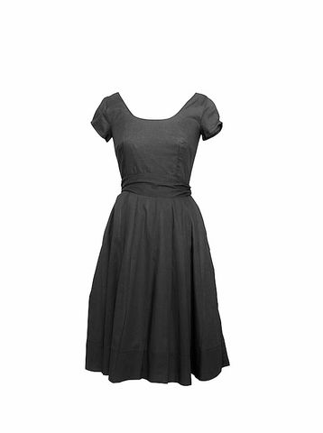 Sabrina,classic dress, work dress, Audrey, Audrey Hepburn, Audrey dress, LBD, little black dress, summer dress, grey dress, smart dress, cocktail dress