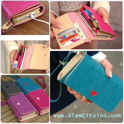 Chic,Wallet,Phone,Case