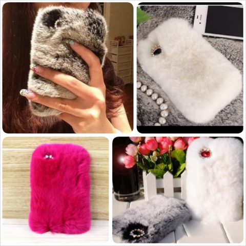 Glam,Fluffy,Case