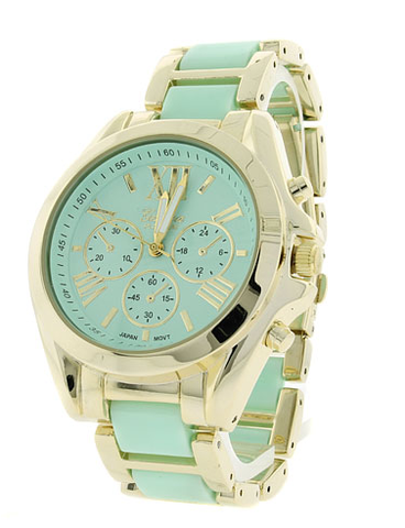 Gold,Bold,Minty,Watch