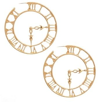 Timeless,Glam,Hoop,Earrings
