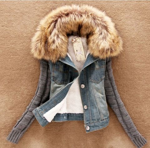 Breezy,Venice,Jacket,denim jacket, fur jacket, autumn jacket