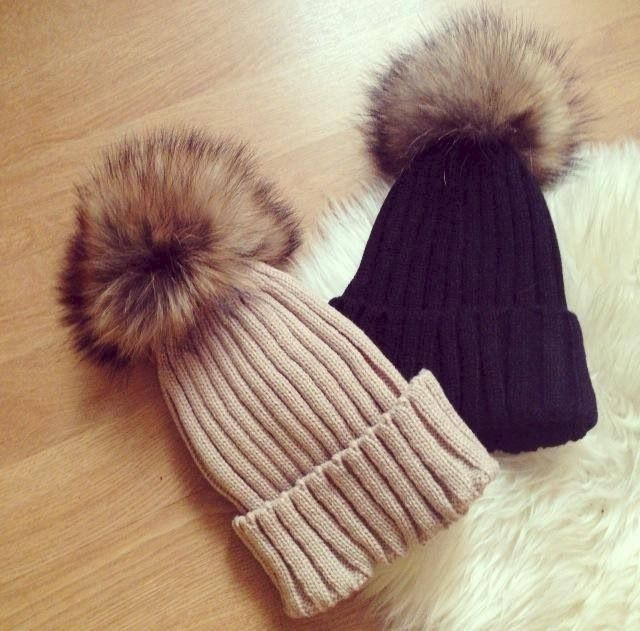 Fluffy Luxe Pom Beanie  - product images  of