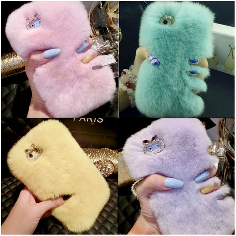 Sweet,Pastel,Fluffy,Case