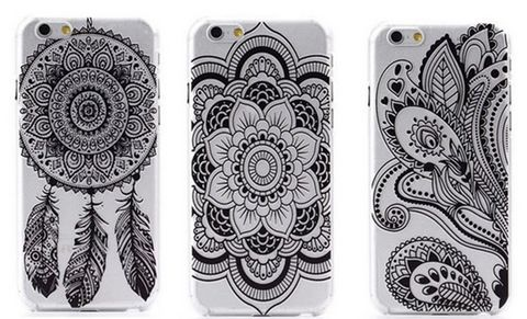 Paisley,Glam,Case,Black