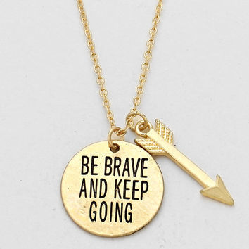 Be,Brave,Necklace