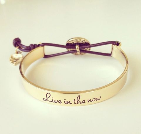 Live,in,the,Now,bracelet