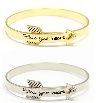 Follow,your,heart,bracelet