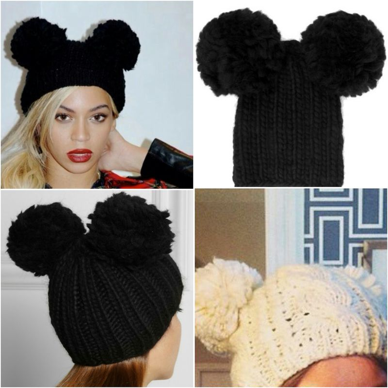 Pom Pom Ears Beanie  - product images  of