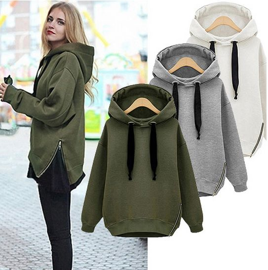 Plush Hooded Sweater  - product images  of