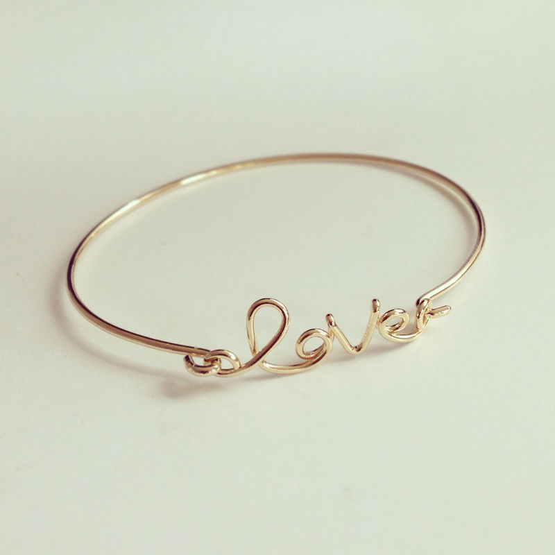 Written with Love Bracelet  - product images  of