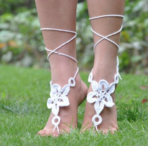 Star Lace Up Anklet  - product images  of