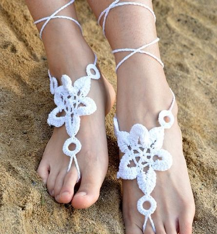 Star,Lace,Up,Anklet
