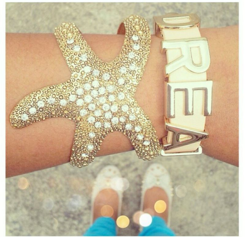 Starfish Bracelet Cuff - product images  of