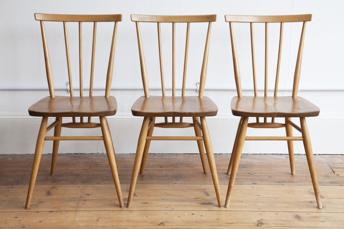 cowhorn dining chairs blackduke cashman ercol kitchen dining chairs
