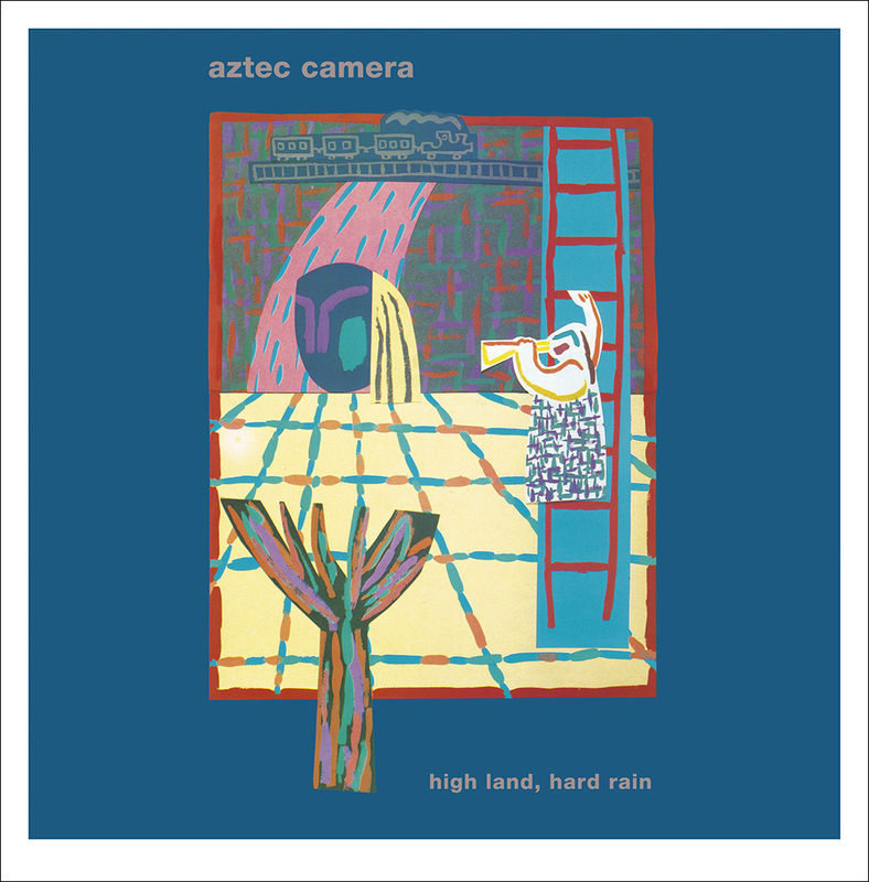 Aztec Camera: High Land, Hard Rain. Gatefold LP and 7