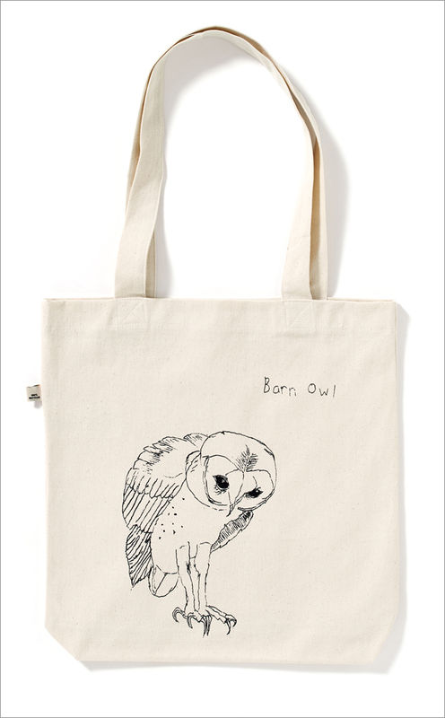 The Barn Owl Tote Bag - product images