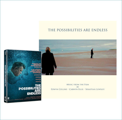 The,Possibilities,Are,Endless:,DVD,and,Soundtrack,LP,Bundle,THE POSSIBILITIES ARE ENDLESS, EDWYN COLLINS, EDWYN FILM