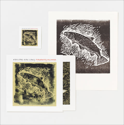 Understated,LP,and,Salmon,Letterpress,Print