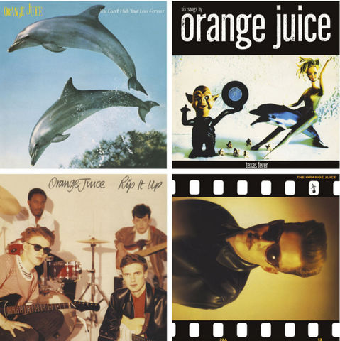 You,Can't,Hide,Your,Love,Forever/Rip,It,Up/Texas,Fever/The,Orange,Juice:,4,x,LP,Bundle,Orange Juice Vinyl