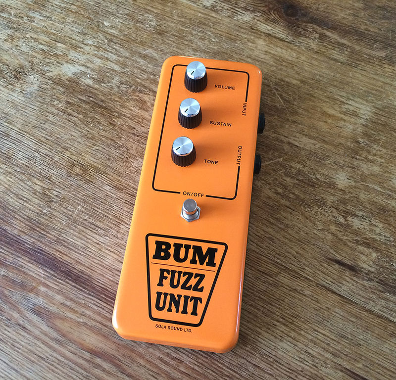 THE BUM FUZZ GUITAR PEDAL - product image