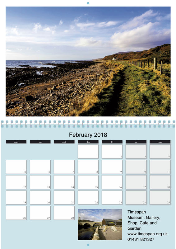 A Calendar From Helmsdale - product image