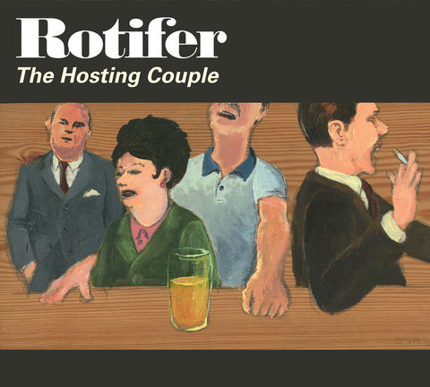 AED0007CD,ROTIFER:,THE,HOSTING,COUPLE,Rotifer, The Hosting Couple, AED, Wreckless Eric