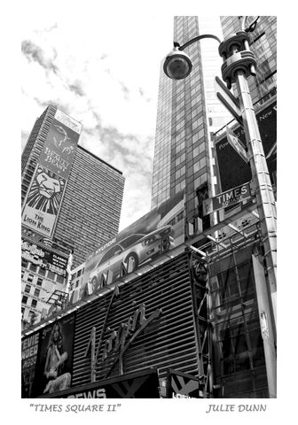 Times,Square,II,NYC, New York City, Times Square, Prudential, Manhattan, black and white photography, B & W photos