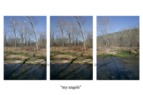 Angels,angels, God, Jesus, orbs, Current River, Montauk, christian, spirits, Montauk State Park