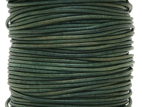 Round,Leather,Cord,Natural,Turquoise,Color,1.5,mm,Diameter,(Length:,5,Yards),Supplies,dyed leather cord,round leather cord,beading supply,wrap bracelet cord,2mm cord,Round cord,Turquoise leather cord
