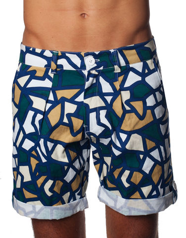 Nemis,Mosaic,Shorts,shorts, summer, man, men, spring, fashion, garment, streetwear