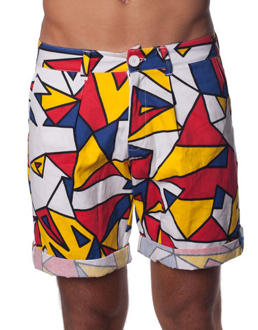 Nemis,Mondrie,Shorts,shorts, summer, man, men, spring, fashion, garment, streetwear