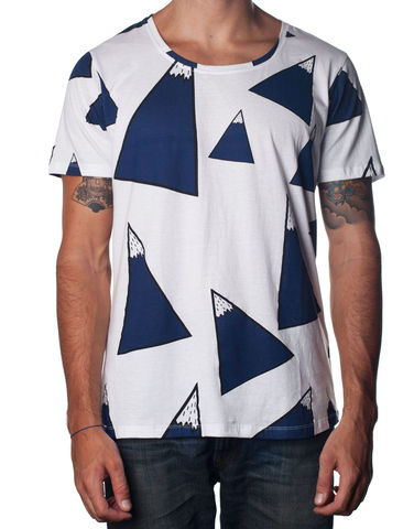 Nemis,Mountain,Top,Tee,pasar fashion online, nemis clothing, urban streetwear, Clothing,Tshirt,geometric,aztec,native,tribal,bold,graphic,print,fashion,mens,women,streetwear,retro,urban,cotton,supima,40s