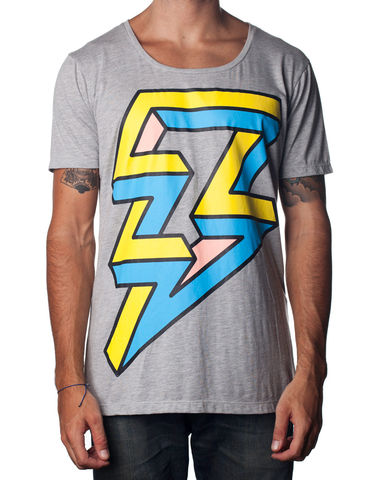 Nemis,Lightning,Tee,pasar fashion online, nemis clothing, urban streetwear, Clothing,Tshirt,geometric,aztec,native,tribal,bold,graphic,print,fashion,mens,women,streetwear,retro,urban,cotton,supima,40s