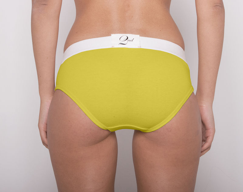 Colorful 2nd chartreuse owl underwear - Hiba abouk en ropa interior ...