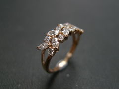 Marquise Diamond Wedding Ring - product images 2 of 12