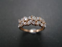 Marquise Diamond Wedding Ring - product images 5 of 12