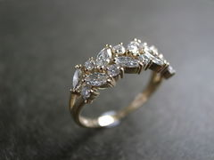 Marquise Diamond Wedding Ring - product images 11 of 12
