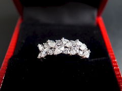 Marquise Diamond Wedding Ring - product images 12 of 12