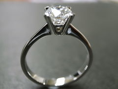 0.60ct Engagement Diamond Ring - product images 5 of 5