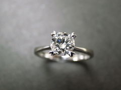 0.60ct Engagement Diamond Ring - product images 3 of 5