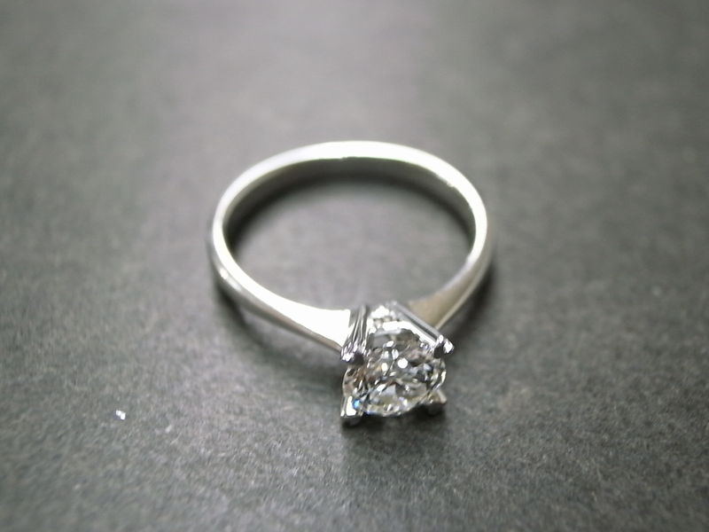 0.60ct Engagement Diamond Ring - product image